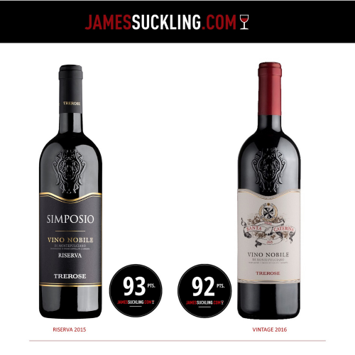 James Suckling's new tastings